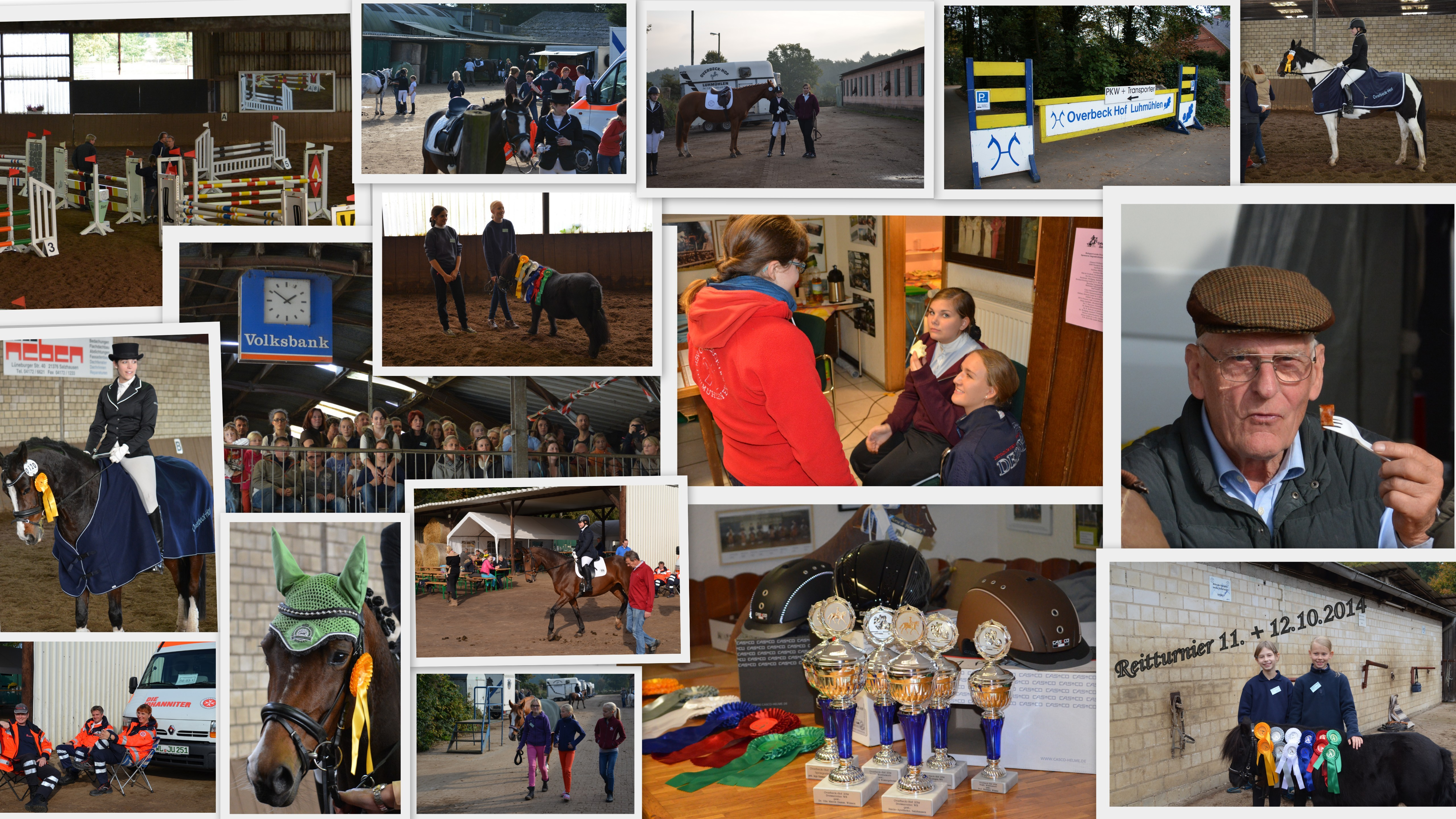 Collage Reitturnier